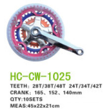 Bicycle Accessories of Chain Wheel Crank Hc-Cw-25